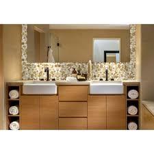 Painting Bathroom Tiles by Mixed Porcelain Pebble Tile Sheets Bathroom Mirror Wall Tiles