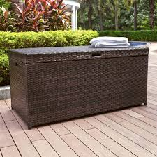 Outdoor Storage Bench Ideas by Backyard Wicker Storage Bench Ideas Backyard Wicker Storage