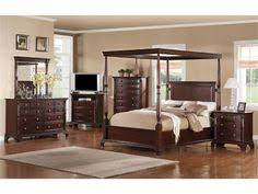 Canopy Bedroom Sets Queen by Key Town California King Size Canopy Bed From Millennium By Ashley