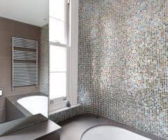 Towel Warmer Drawer Bathroom by United Kingdom Octagon Mosaic Tile Bathroom Contemporary With