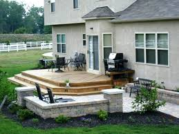 Deck With Patio Designs Small Spaces Patio And Deck Designs Decks Patios Design Marvelous
