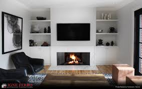 modern gas fireplace in toronto