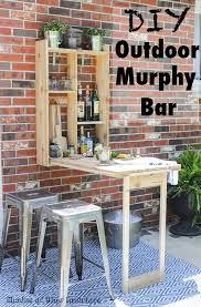 How To Build Outdoor Furniture by How To Build An Outdoor Murphy Bar
