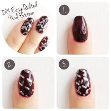 nail diy easy quilted nail art pattern yes missy a lifestyle blog