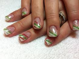 22 christmas french tip nail designs french manicure tutorial for