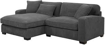 repose charcoal laf 2 piece sectional from emerald home coleman