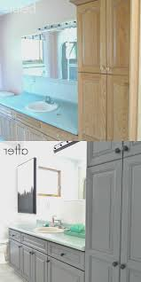 Repainting Bathroom Cabinets Bathroom New How To Refinish A Bathroom Cabinet Design Ideas