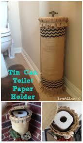 Bathroom Tissue Storage Tin Can Toilet Paper Holder Toilet Paper Holders Toilet Paper