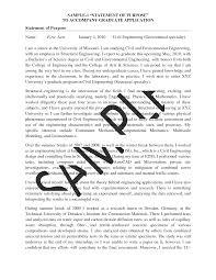 Statement Of Purpose Resume Engineering Paper Template Word