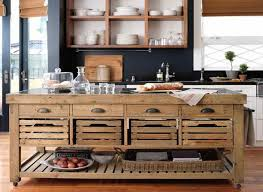 How To Build A Movable Kitchen Island Mobile Kitchen Island Kitchen Design