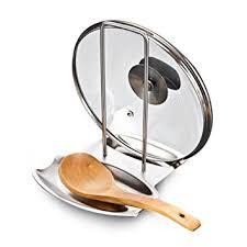 repose cuill鑽e cuisine bestomz support couvercle repose cuillère reste en acier