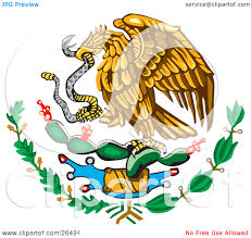 mexico flag eagle clipart cliparthut free clipart