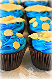 yellow and blue baby shower cupcakes cakecentral com