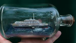 ship in a andrea doria ship in a bottle