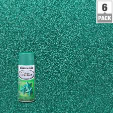 rust oleum specialty 10 25 oz teal turquoise glitter spray paint