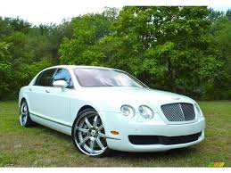bentley flying spur white 2006 glacier white bentley continental flying spur 57272101