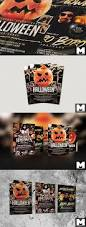 halloween sign templates halloween flyer template mega bundle bonus posters and mockups
