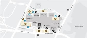 parking map and information fashion show