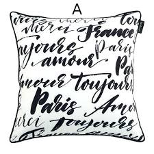 Fascinating Black And White Decorative Pillows Decorative Pillows