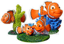 disney fish tank ornaments ebay