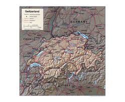 Map Of Switzerland And Germany by Maps Of Switzerland Detailed Map Of Switzerland In English