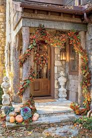 Enchanting Front Door Fall Decoration For Ideas apse