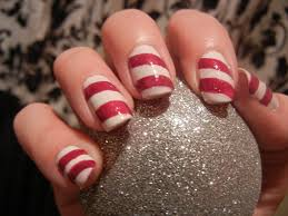 candy cane nails design image collections nail art designs
