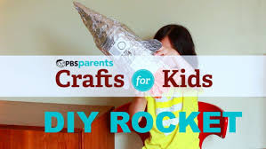 diy rocket crafts for kids pbs parents youtube