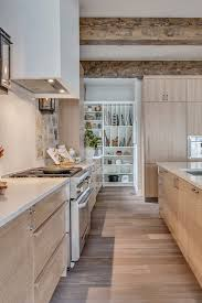 white oak kitchen cabinets this colour on the bottom white on top in 2021 white oak