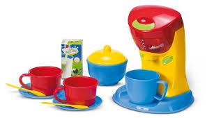 kaffeemaschine kinderküche playgo moderne kaffeemaschine padmaschine für kinderküche ebay