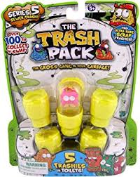 amazon trash pack series 4 5 pack toys u0026 games
