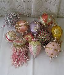 image result for beaded satin ornaments beaded