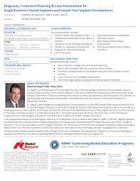 Dentist Description Dental Implants Diagnosis Treatment Planning U0026 Case Presentation