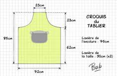 tuto tablier cuisine adulte patron tablier patchwork 15