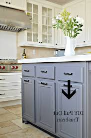 kitchen kitchen island with trash storage regarding astonishing
