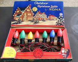 large bulb outdoor christmas lights vintage outdoor christmas lights by noma old fashioned christmas