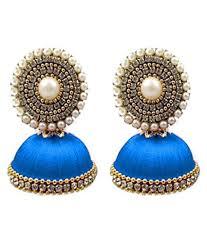 handmade silk thread earrings buy handmade silk thread earrings