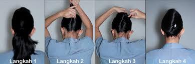 tutorial sirkam rambut panjang tutorial rambut pramugari untuk til cantik di acara wisuda