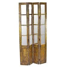 vintage mirror room divider de cor globally inspired