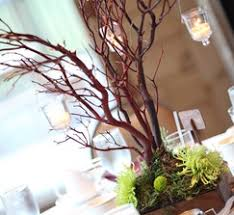manzanita branches centerpieces real weddings and wedding inspiration ideas 10 rustic manzanita