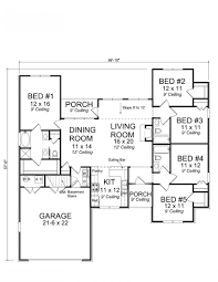 656177 traditional 5 bedroom 3 bath with open floor plan and