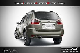 nissan suv back nissan terrano production specification rear fascia rendered