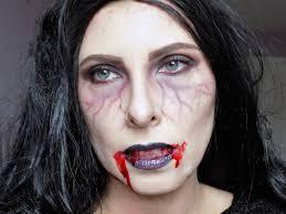 halloween very easy vampire look tutorial mummy u0027s beauty corner