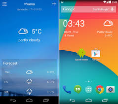 best android weather widget the 20 best weather widgets you should check out