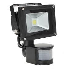Photo Sensor Outdoor Light Outdoor Lighting Floodlights 10w 30w White 800lm Pir Motion Sensor
