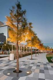 Urban Landscape Design by Considering Details Such As Tree Grating Can Change Or Improve A