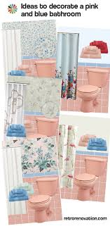 pink bathroom ideas 13 ideas to decorate a pink and blue tile bathroom retro renovation
