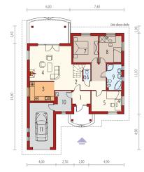 proiecte de case mici pe un singur nivel small single level house