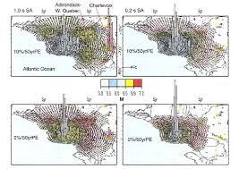 Seismic Risk Map Of The United States by Geographic Deaggregation Of Seismic Hazard In The United States