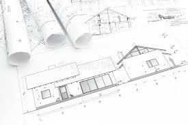 house plan blueprints house plan blueprint stock image image of part reconstruction